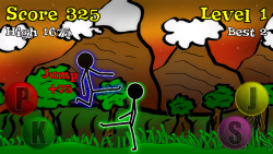 Sticky Ninja HD screenshot 3/5