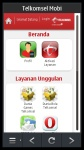 Telkomsel Mobi Symbian 3 screenshot 1/2