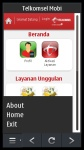 Telkomsel Mobi Symbian 3 screenshot 2/2
