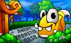Angry Monster Dash screenshot 1/2