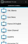 Free Kazakhstan Tv Live screenshot 2/5