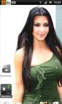 Kim Kardashian 5 Live Wallpaper SMM screenshot 1/3