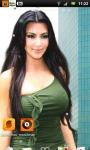 Kim Kardashian 5 Live Wallpaper SMM screenshot 2/3
