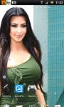 Kim Kardashian 5 Live Wallpaper SMM screenshot 3/3