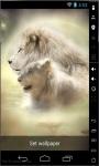 Lion Couple Live Wallpaper screenshot 1/2