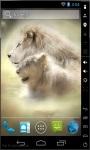 Lion Couple Live Wallpaper screenshot 2/2