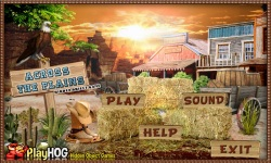 Free Hidden Object Game - Across The Plains screenshot 1/4