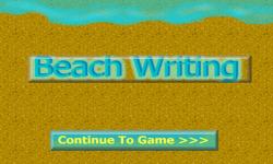 Beach Writing screenshot 2/3