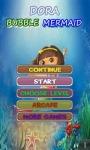 Bubble Dora Guppies Game screenshot 1/2