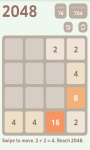 2048 Puzzle 2016 screenshot 2/4