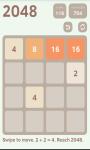 2048 Puzzle 2016 screenshot 3/4