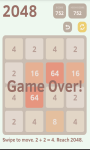2048 Puzzle 2016 screenshot 4/4