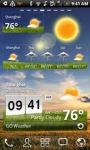 GO Weather Widget Skin LG screenshot 6/6