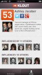 Klout for iPhone screenshot 5/5