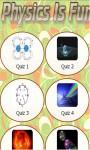 Physics Quiz n Trivia - Learn Equations n Formulas screenshot 1/3