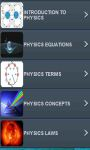 Physics Quiz n Trivia - Learn Equations n Formulas screenshot 2/3