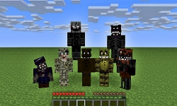 Nightmare Freddy Skins Minecraft screenshot 2/2