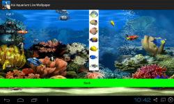 Koi Aquarium Live Wallpaper screenshot 3/4
