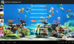 Koi Fish Live Wallpaper Free screenshot 2/4