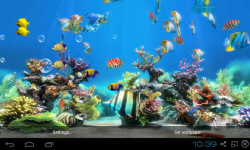 Koi Fish Live Wallpaper Free screenshot 3/4
