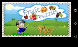 Amazing jigsaw Fruit Puzzles for Kids n Children screenshot 1/1