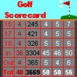 Golf Scorecard screenshot 1/1