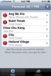 Rain Alert for Singapore screenshot 1/1
