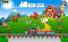 Kids Animal Train First Word screenshot 3/6