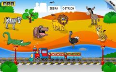 Kids Animal Train First Word screenshot 5/6
