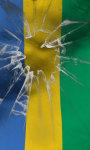 Gabon flag live wallpaper Free screenshot 1/5