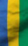 Gabon flag live wallpaper Free screenshot 3/5