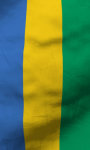 Gabon flag live wallpaper Free screenshot 4/5