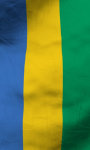Gabon flag live wallpaper Free screenshot 5/5