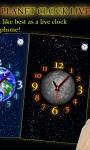 Choose Your Planet Clock LWP free screenshot 1/3