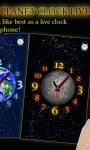 Choose Your Planet Clock LWP free screenshot 2/3