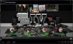 GTA IV Cheat Codes 2014 screenshot 1/3