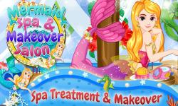 Mermaid Spa Makeover Salon screenshot 1/5
