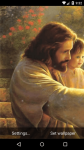 Beautiful Jesus Live Wallpaper HD screenshot 1/6