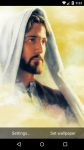 Beautiful Jesus Live Wallpaper HD screenshot 3/6