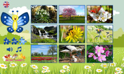 Puzzles for kids: spring screenshot 2/6