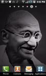 Gandhi Live Wallpaper screenshot 1/3