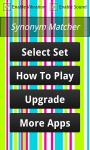 Synonym Matcher Free screenshot 1/4