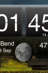 Nightstand Central for iPad Free - Alarm Clock with Weather and Photo Wallpapers screenshot 1/1