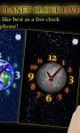 Choose Your Planet Clock LWP screenshot 1/3