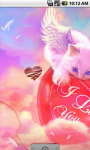 Cupid Cat Live Wallpaper screenshot 2/4