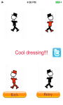 Cool Stickman Dress Up - Doodle World Fashion screenshot 5/5