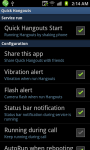 Quick Hangouts screenshot 1/4