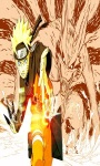 Uzumaki Naruto With Kyubi Strong Action Wallpaper screenshot 3/3