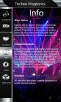 Techno Ringtones Top screenshot 5/6