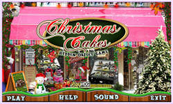 Free Hidden Object Game - Christmas Cakes screenshot 1/4